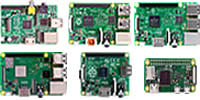 Raspberry Pi model comparison image