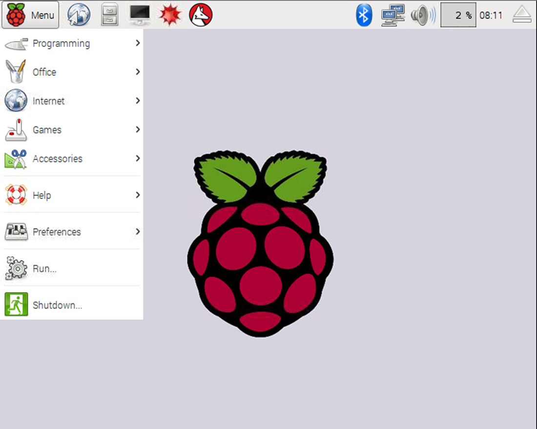 how to create a bash file raspbian