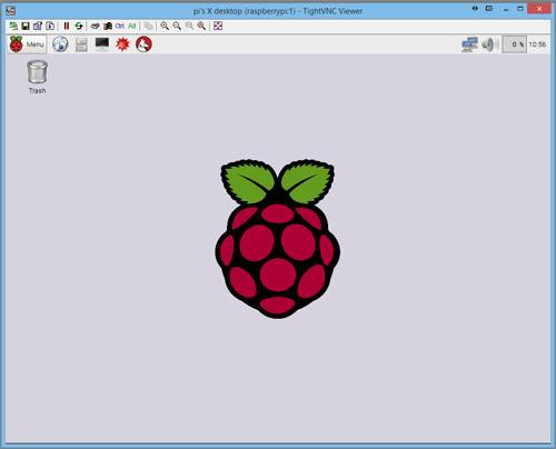 VNC GUI Screen